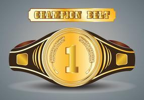 Championship Belt vektor