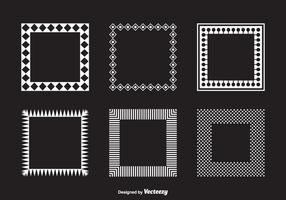 Vektor-Platz Geometrische Funky Frames vektor
