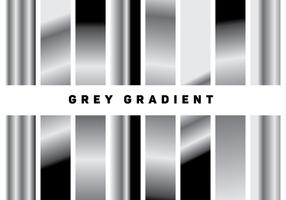 Metallic-grau Gradientenvektoren vektor