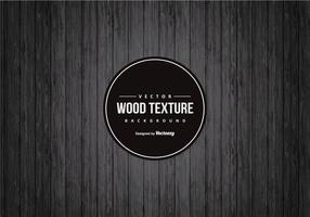 Drak Svart Wood bakgrund vektor