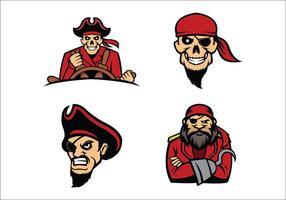 Freie Raiders Mascot Vector