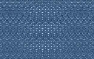 nahtloses Muster im japanischen Stil