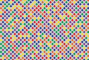 färgglada geometriska mosaikmönster