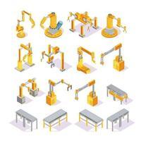 Isometrisches Set des Fördersystems