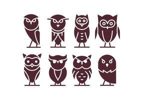 Vector Buho Icons
