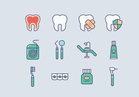 Freie Zahnarzt Vector
