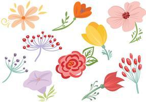 Gratis blommor vektorer