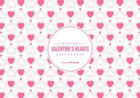 Söt Alla hjärtans dag Bakgrund vektor