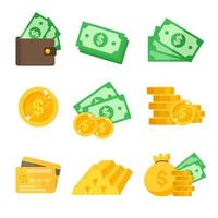 Dollar Icon Set