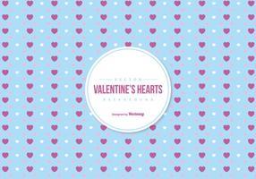 Valentinstag Bunte Herzen Hintergrund