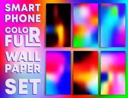 bunte Farbverlauf Textur Tapeten Smartphones