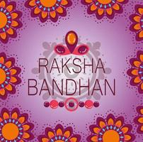 glad raksha bandhan affischdesign