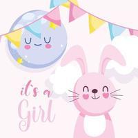 Babyparty es ist ein Mädchen