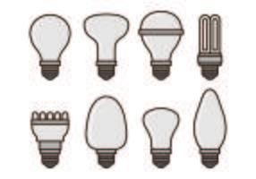 Set Ampoule Vektoren