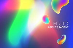 holographisches flüssiges helles Gradientendesign