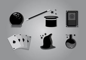 Zauberstab Vektor Pack
