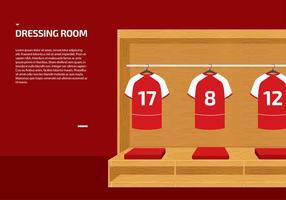 Dressing Room Sport Vector