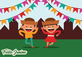 Festa Junina Party Vector