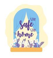 Bleib sicher, bleib zu Hause