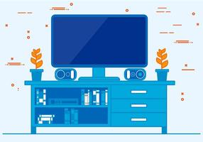 Free Vector Television Illustration