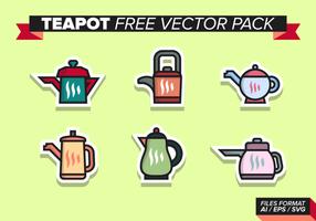 Tekanna Gratis Vector Pack