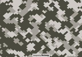 Vektor pixelierte Multicam