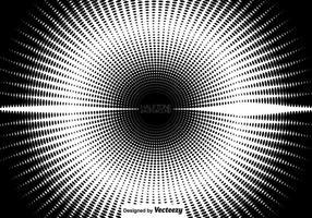 Kreisförmiges Vektor-Halbton vektor