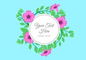 Freie Petunia Blumen Hintergrund Vektor