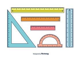 Linjaler Vector Set