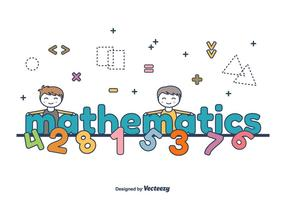 Mathematik Wort Vektor