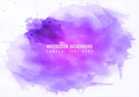 Gratis Vector färgglada akvarell Splash bakgrund