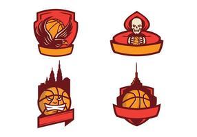 Freie Basketball Logo Vector