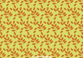 Herbst-Blätter nahtlose Muster Hintergrund vektor