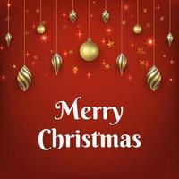 Weihnachtsroter Hintergrund vektor