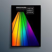 Entwurfsvorlage mit Farbverlaufshintergrund