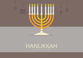 Lyckliga Hanukkah Illustration vektor
