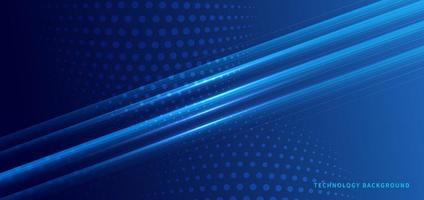 abstrakter technologischer und futuristischer Hintergrund vektor