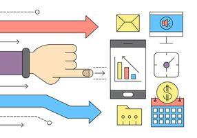 Kostenlose Set von Business und Finanzen Icons