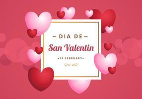 Gratis San Valentin Hintergrund vektor