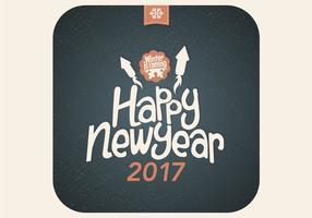 Neujahrsnacht Vektor