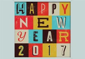 Glückliches neues Jahr-Zeichen vektor