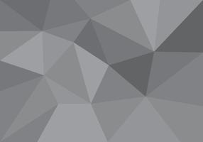 Lowpoly Grau Gradienten Vektor
