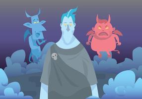 Hades und Teufel Vektor