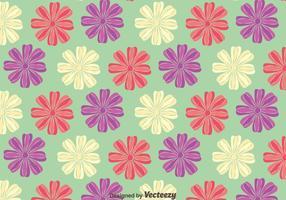Schöne Petunia Blumen-Muster-Hintergrund vektor