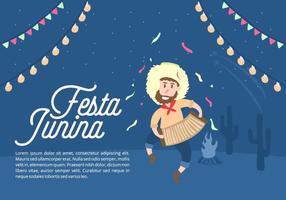 Festa Junina Bakgrund vektor