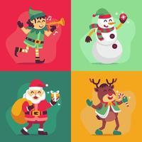 Santa und die Helfer-Charaktersammlungen