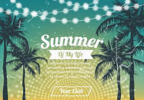 Sommer-Party-Hintergrund vektor