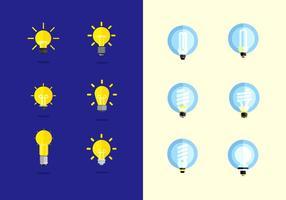 Kostenlose Ampoule Vektor Sammlung