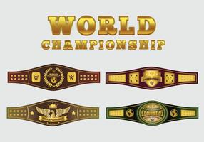 VM Belt Vector Pack