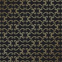 guld eleganet stil abstrakt prydnad mönster